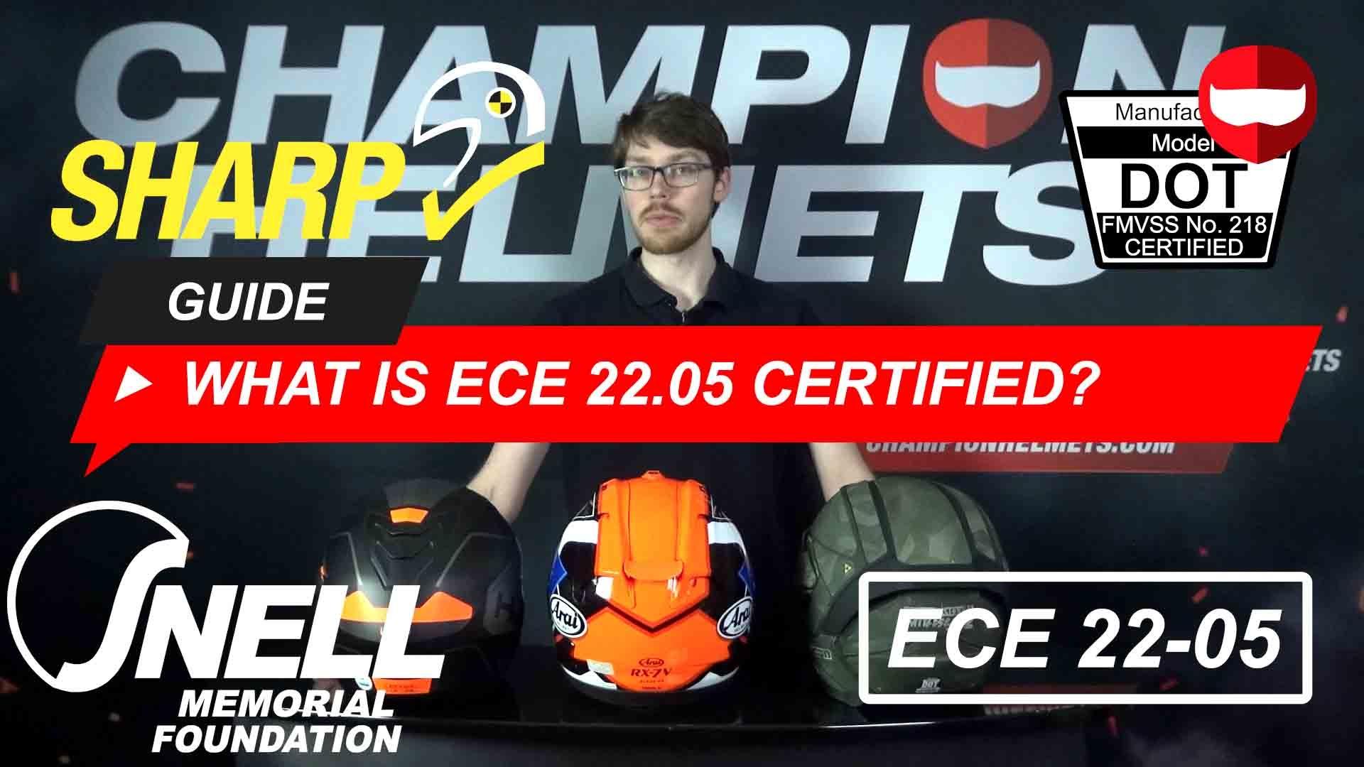 Motorcycle Helmet Safety Standards Explained: ECE vs DOT vs Snell + Video
