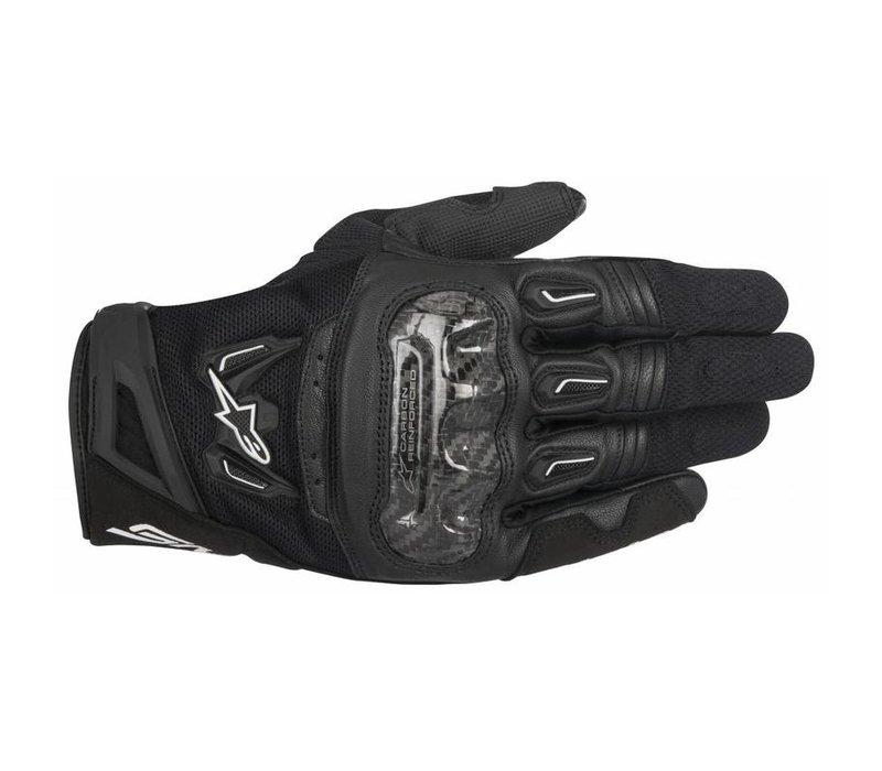 Buy the Alpinestars SMX-2 Air Carbon V2 Black Gloves? 5% Champion Cashback on your Order Value!