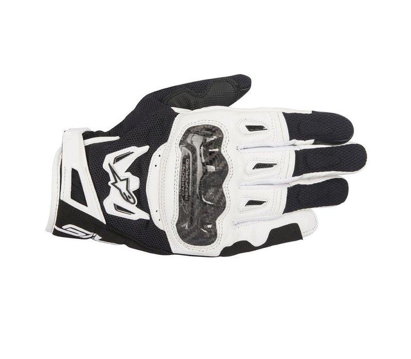 Alpinestars SMX-2 Air Carbon V2 Schwarz Weiß Handschuhe kaufen? 5% Champion Cashback!