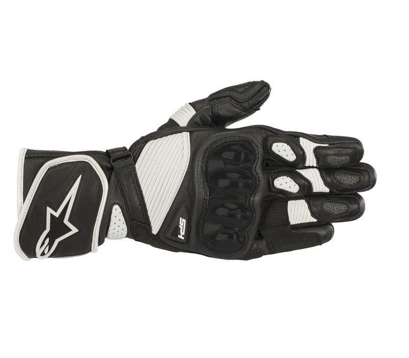 Buy the Alpinestars SP-1 V2 Black White Gloves? 5% Champion Cashback on your Order Value!
