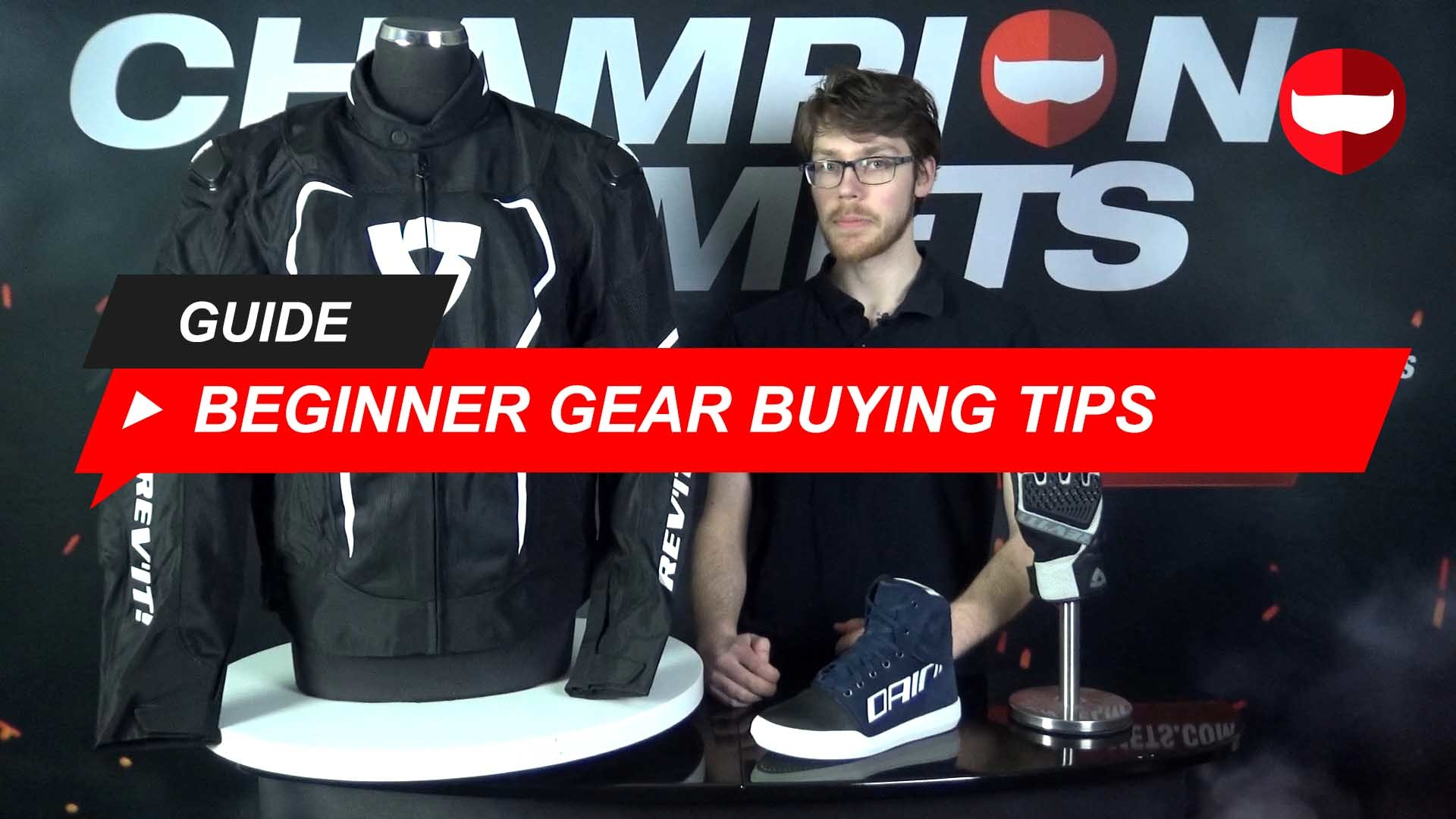 What to look for when buying beginner motorcycle gear + Video