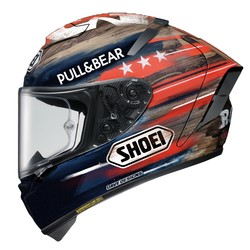 Shoei buy Shoei X-Spirit III Marquez America TC2 Helmet Helmet + 50% discount Extra Visor!