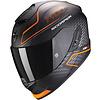 Airoh Scorpion EXO-1400 Air Galaxy Helm Matt Orange + 50% Rabatt auf ein Extra Visier!