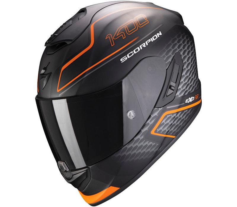 Scorpion EXO-1400 Air Galaxy Helm Matt Orange + 50% Rabatt auf ein Extra Visier!