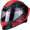 Scorpion Scorpion EXO-R1 Air OGI Schwarz Rot Helm + 50% Rabatt auf ein Extra Visier!