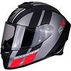 Scorpion Scorpion EXO-R1 Air Corpus Matt Schwarz Silber Rot Helm + 50% Rabatt auf ein Extra Visier!    - Copy