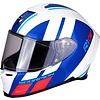 Scorpion Scorpion EXO-R1 Air Corpus Helm Blau Rot Weiss + 50% Rabatt auf ein Extra Visier!