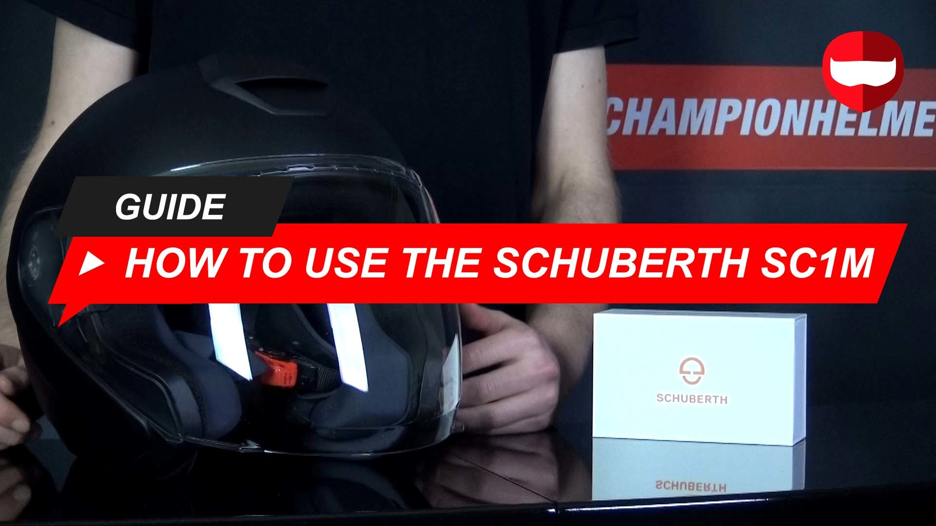 Schuberth SC1M Bluetooth Communication System Review and Installation + Video