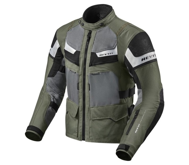 Revit Cayenne Pro Motorradjacke Schwarz Grün kaufen?