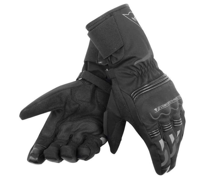 Buy Dainese Tempest D-Dry Black Long Gloves? 5% Champion Cashback on your Order Value!
