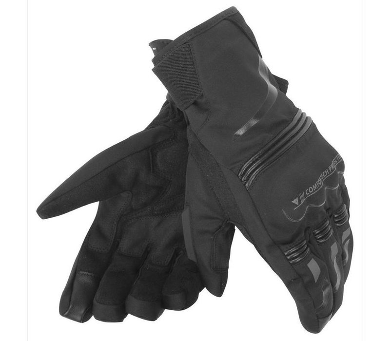 Dainese Tempest D-Dry  Schwarz Short Handschuhe kaufen?  5% Champion Cashback!