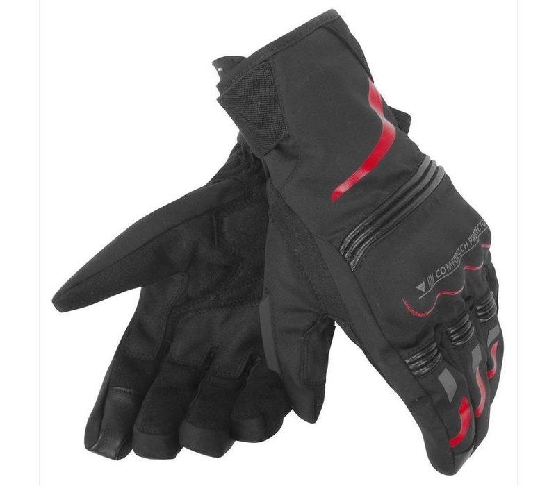 Buy Dainese Tempest D-Dry Black Red Short Gloves? 5% Champion Cashback on your Order Value!