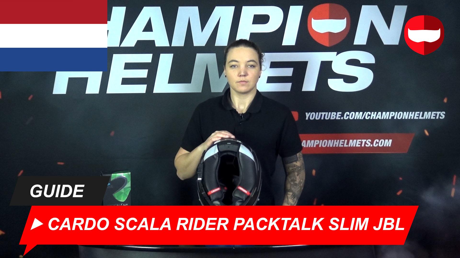 Installatie van de Cardo Packtalk Slim in de HJC RPHA 70 + Video