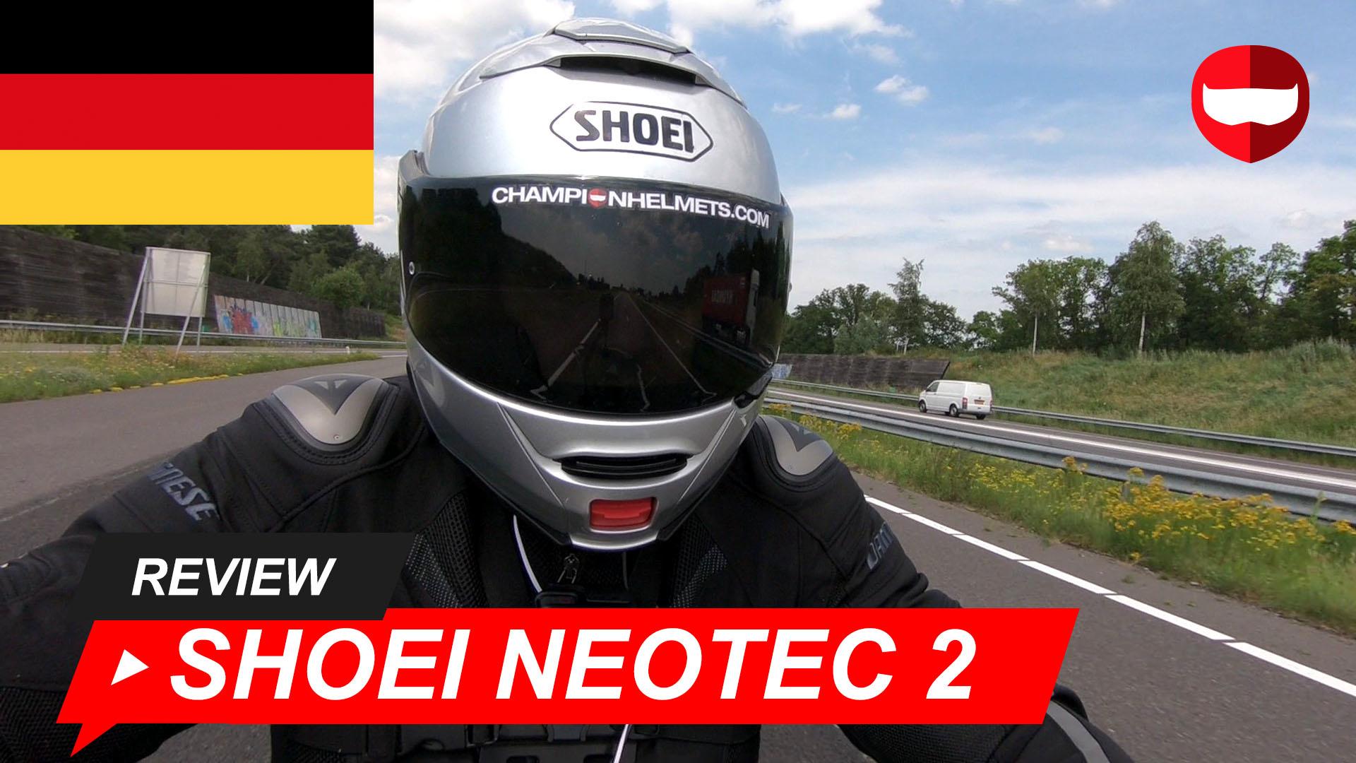 Shoei Neotec 2 Fahrtest + Video