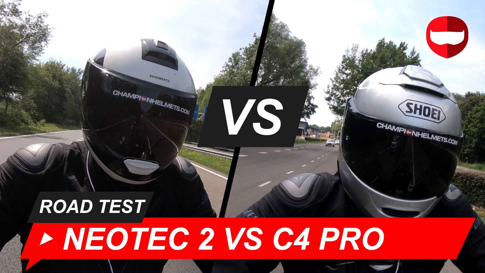 Shoei Neotec II vs Schuberth C4 Pro Road Test + Video