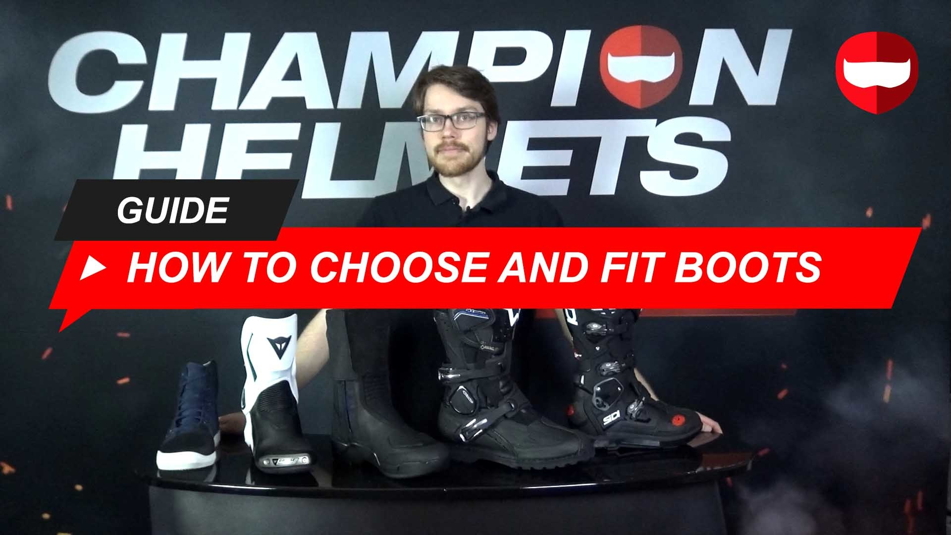 How to Choose and Fit Motorcycle Riding Boots + Video