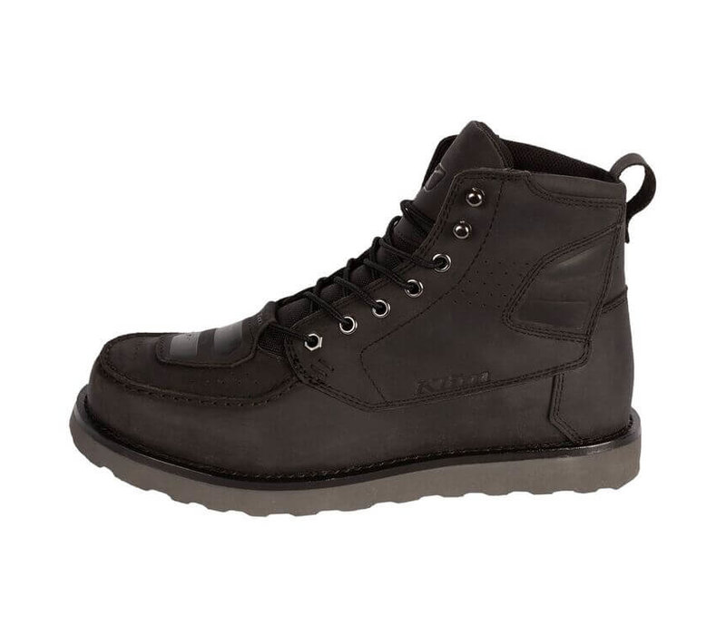 Klim Blak Jak  Gunmetal Black Leather Boots? 5% Champion Cashback on your Order Value!