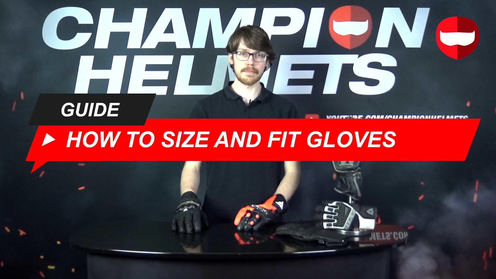 How to Size and Fit Motorcycle Gloves Guide + Video