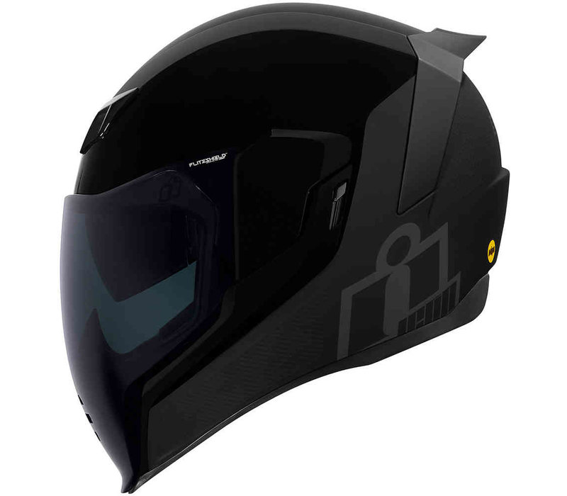 Buy ICON Airflite MIPS Stealth Helmet + 50% discount Extra Visor!