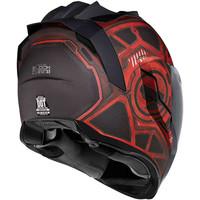 Buy Icon Airflite Blockchain Red Helmet? + 50% discount Extra Visor!