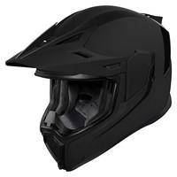 Icon Airflite Moto  Zwarte helm Kopen? + 50% korting op een Extra Vizier!