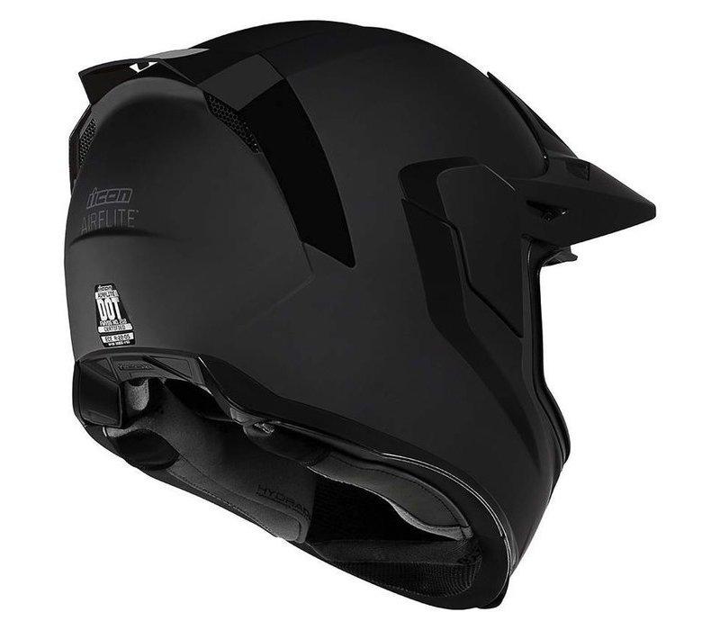 Buy Icon Airflite Moto Black Helmet? + 50% discount Extra Visor!