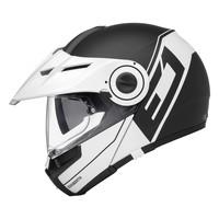Schuberth E1 Rediant  Wit Zwarte Helm kopen? Gratis Verzending & Retour!