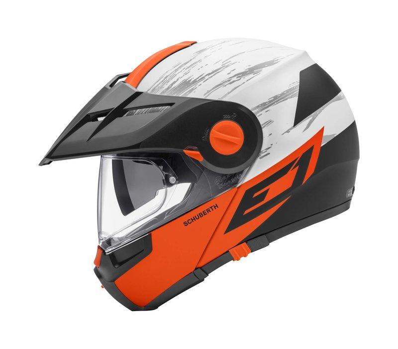 Schuberth E1 Crossfire Oranje Helm kopen? Gratis Verzending & Retour!
