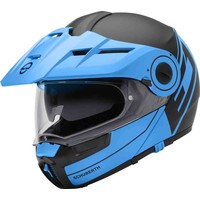 Buy Schuberth E1 Rediant Black Blue Helmet? Free Shipping!