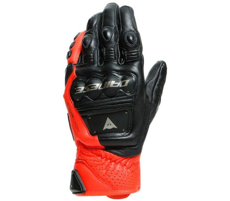 Buy Dainese 4 Stroke 2 Black Red Gloves