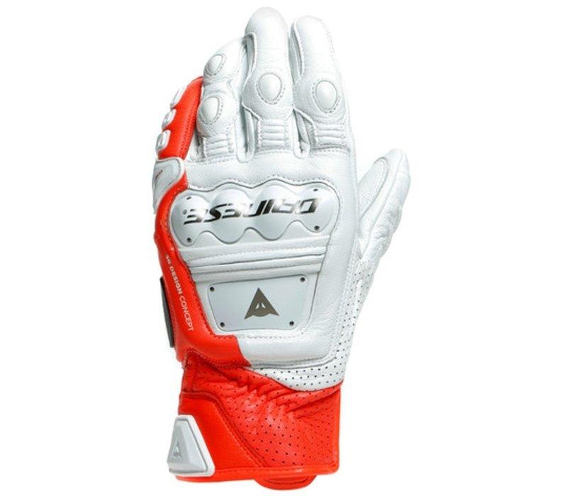 Dainese 4 Stroke 2 Wit Rode Handschoenen