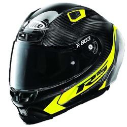 X-LITE Buy X-Lite X-803 RS Ultra Carbon Hot Lap Yellow Helmet? +Free Dark Smoke Visor!