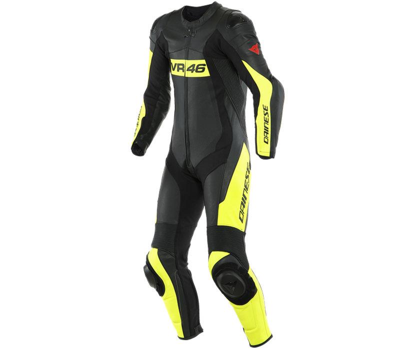 Raje De Una Pieza Dainese VR46 Tavullia 1PC Suit + Spedizione e Ritorno Gratuiti!