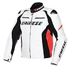 Dainese Dainese Racing D1 Leather Jacket White