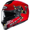 HJC Buy HJC RPHA 70 Isle Of Man MC1 Helmet? Free Shipping!