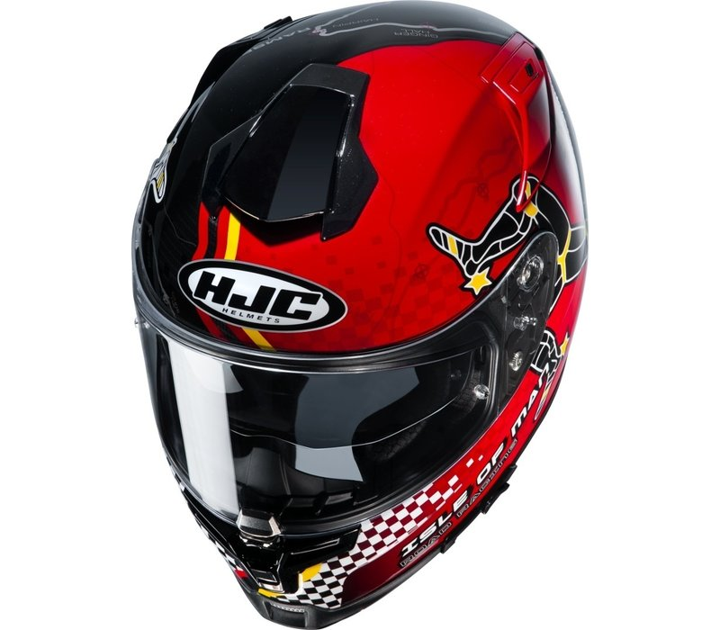 Buy HJC RPHA 70 Isle Of Man MC1 Helmet? Free Shipping!