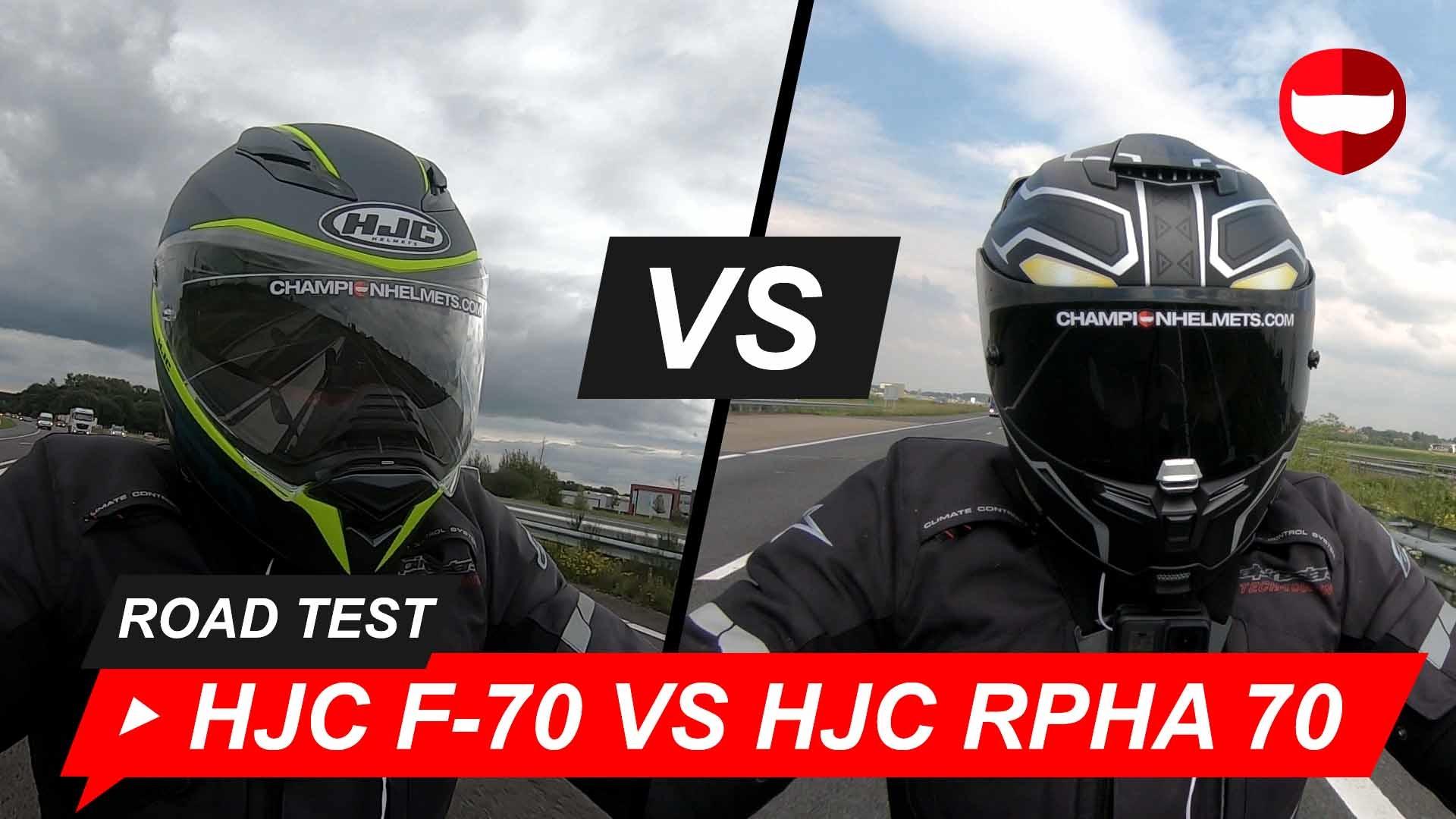 HJC F70 vs HJC RPHA 70 Road Test + Video