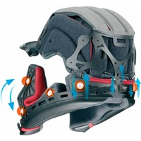Shoei X-Spirit III Aerodyne TC-1 Helm + Gratis Extra Vizier!