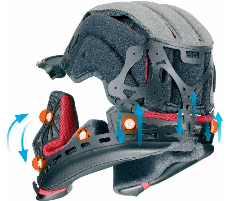 Shoei X-Spirit III Aerodyne TC-4 Helm + Gratis Extra Vizier!