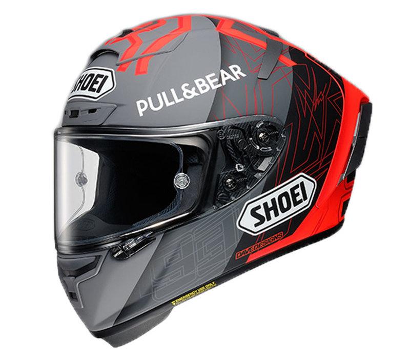 Shoei X-Spirit III Marquez Black Concept 2.0 TC-1 Helmet + 50% discount Extra Visor!