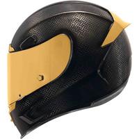ICON Airframe Pro Gold Carbon Helm Kopen? + 50% korting op een Extra Vizier!