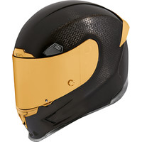 Buy ICON Airframe Pro Gold  Carbon Helmet + 50% discount Extra Visor!