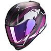 Scorpion Scorpion Exo 510 Air Balt Helm Zwart Wit Roze + 50% korting op een Extra Vizier!