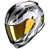 Scorpion Scorpion Exo 510 Air Balt Helmet Silver White Neon-Yellow+ 50% discount Extra Visor!