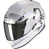 Scorpion Scorpion Exo 510 Air Pique Helm Pearl Wit Zilver + 50% korting op een Extra Vizier!