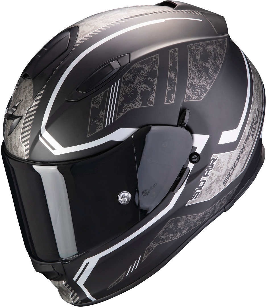 Green Motorcycle Full Face HelmetAll Sizes Scorpion EXO 510 Air Route Black