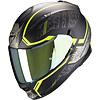 Scorpion Buy Scorpion Exo 510 Air Occulta Matt Black-Neon Yellow Helmet? Free Additional Visor!