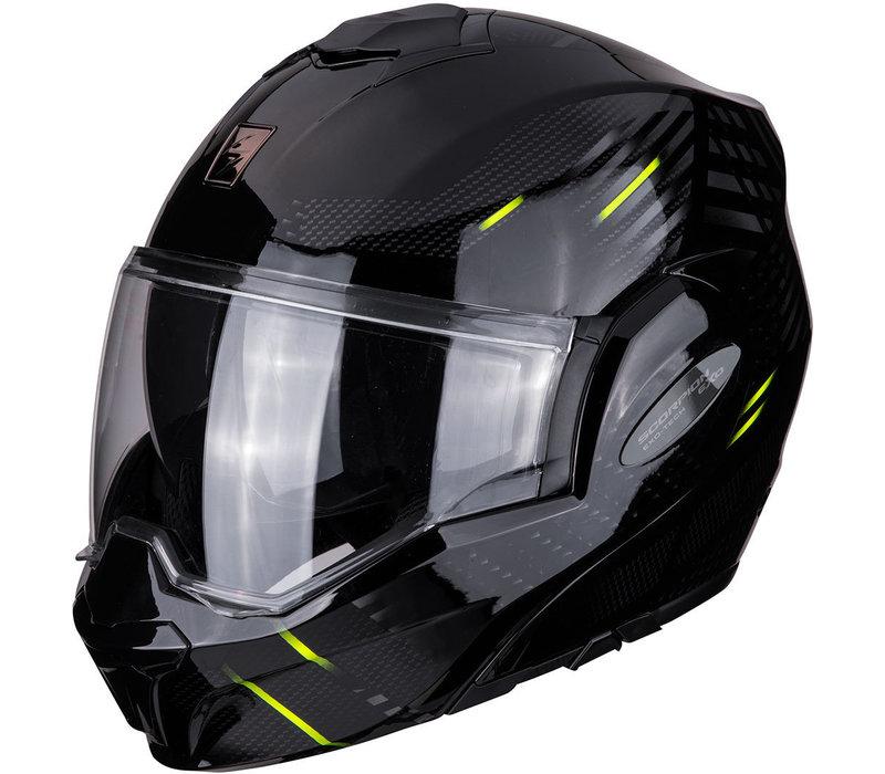 Scorpion Exo-Tech Pulse Zwarte helm Kopen? + Gratis Verzending & Retour!