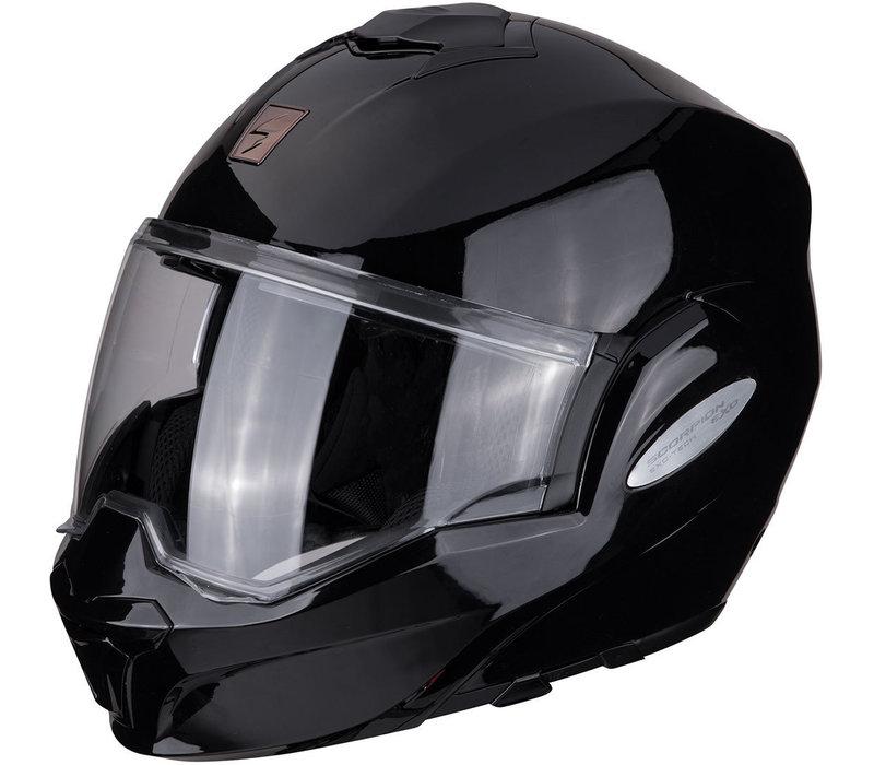 Scorpion Exo-Tech Solid Zwarte helm Kopen? + Gratis Verzending & Retour!