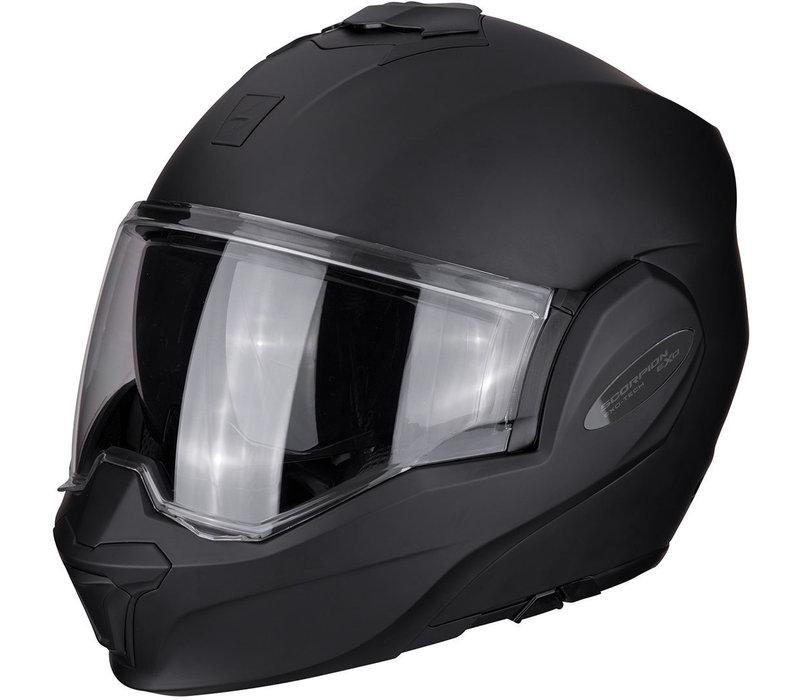 Scorpion Exo-Tech Solid Matt Zwarte helm Kopen? + Gratis Verzending & Retour!